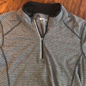 Quarter Zip long sleeve top